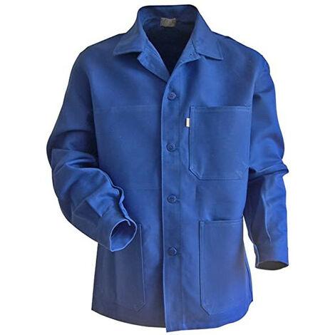 Blouse de travail à fermeture à boutons Bleu Bugatti PLANTOIR | 200241 - LMA