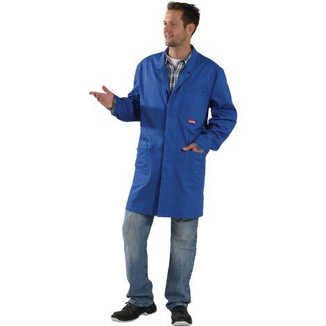 Blouse de travail BW 290 Taille 48 bleu granuleux 100 % coton