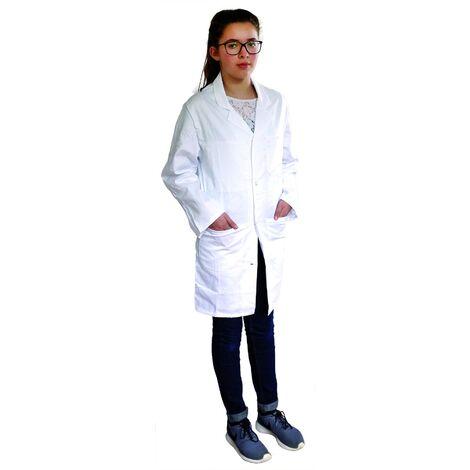 Blouse Enfant Chimie Scolaire 100% Coton
