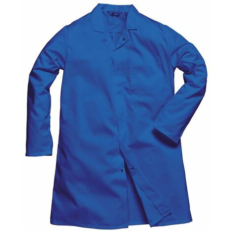 Blouse Homme Agroalimentaire 1 poche Portwest Bleu Royal 3XL