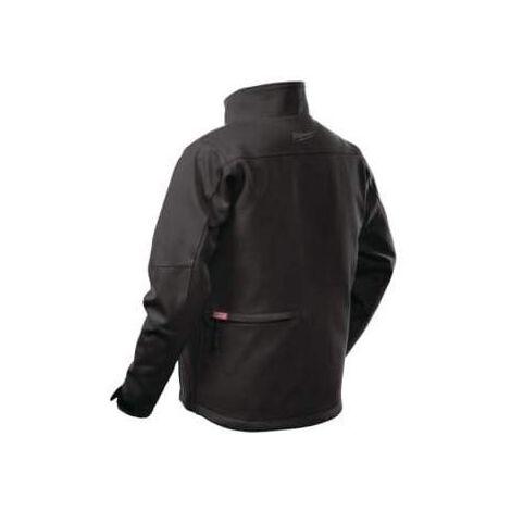 Blouson chauffant noir M12HJBL4-0 MILWAUKEE sans batterie ni chargeur - taille XL - 4933464325