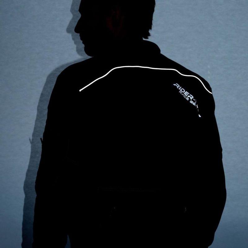 FLM Veste de Moto avec Protections Veste de Moto Veste Textile de Voyage 1.0 Toute lann/ée Hommes Tourer