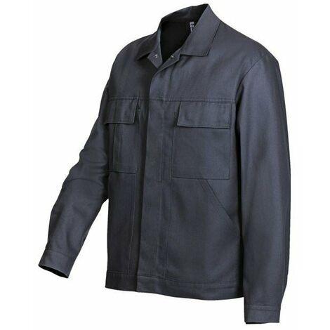 Blouson homme 100 % coton bleu roi taille 38-40