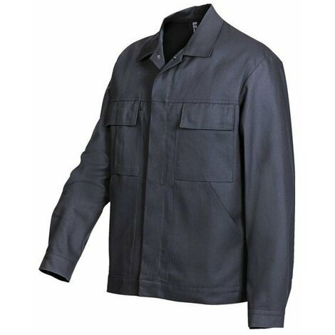 Blouson homme 100 % coton bleu roi taille 42-44