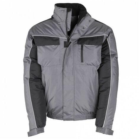 Blouson rembourré SMART gris-noir KAPRIOL - plusieurs modèles disponibles