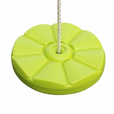 Blow moulded plastic swing disk for 2 to 2.2m gantry, equipment for swing frame