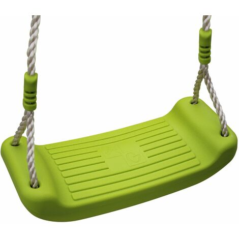 Blow moulded plastic swing seat for 2 to 2.5m frame, piece, accessory