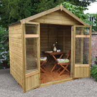 Bloxham Wooden Summerhouse 5ft x 7ft