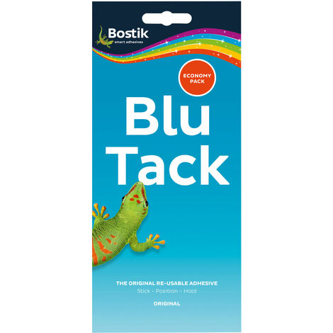 Blu Tack 80108 Economy Re-usable Adhesive - Single