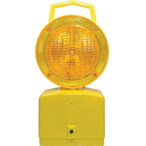 Blue Diamond Stl Roadside Lamp Yellow With 2 X 4R25 6V Batteries
