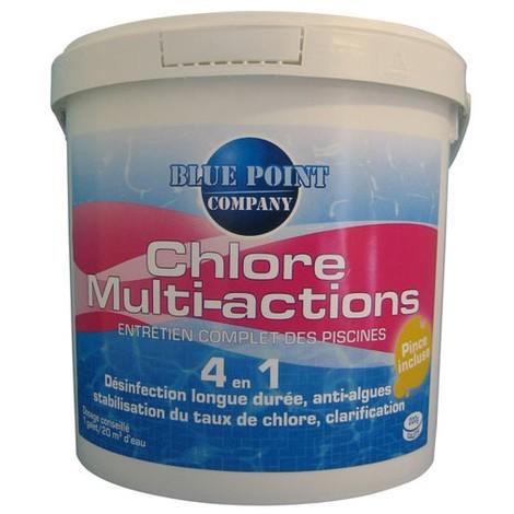 BLUE POINT COMPANY - Chlore multi-actions 4 en 1 - 5 Kg