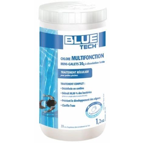 BLUE TECH CHLORE MULTIFONCTION Galet 1,2kg-260152