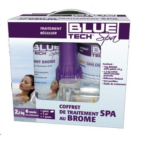BLUE TECH SPA coffret complet pour entretenir les Spas Brome -268390