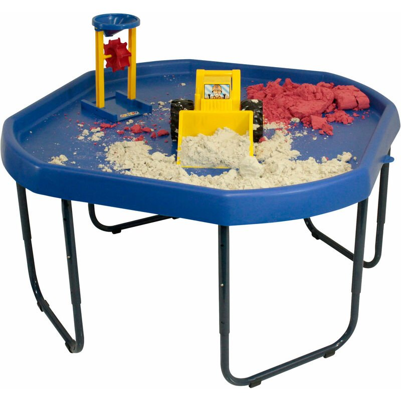Image of Blue Tuff Tray And Stand