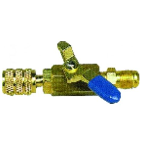 Blue valve M1/4? x F1/4? - GALAXAIR : SA-14M14F-B