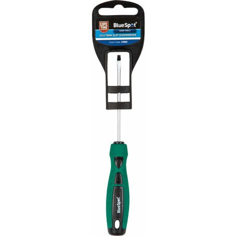 """main image of """"BlueSpot 13002 3.0 x 75mm Slotted Screwdriver"""""""