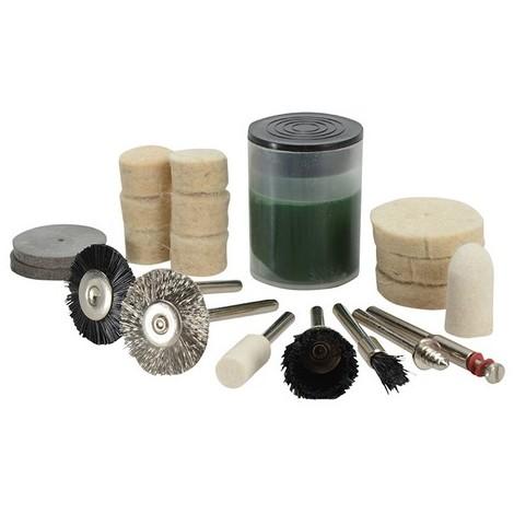 BlueSpot 19013 Cleaning & Polishing 20 Piece Kit