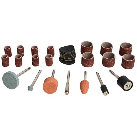 BlueSpot 19019 Sanding & Grinding Accessory 31 Piece Kit