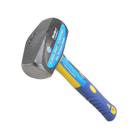 BlueSpot 26200 Club Hammer Fibreglass Handle 1.13kg 2.1/2lb
