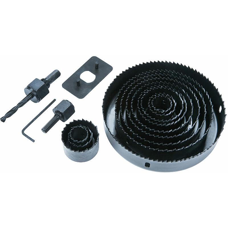 Image of BlueSpot Tools 20509 Multi Holesaw Set, 16 Piece 19-127mm