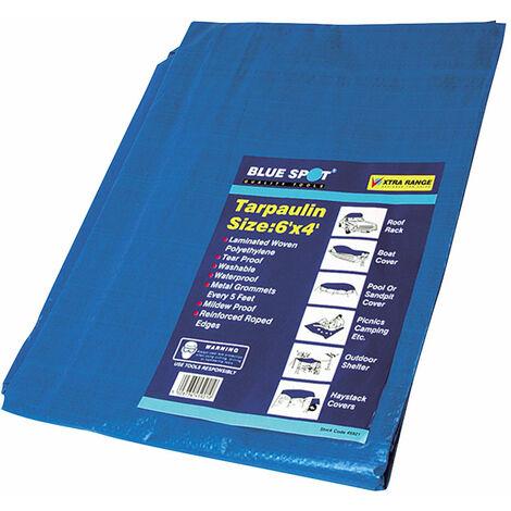 BlueSpot Tools 45921 Tarpaulin 1.8 x 1.2m (6 x 4ft)