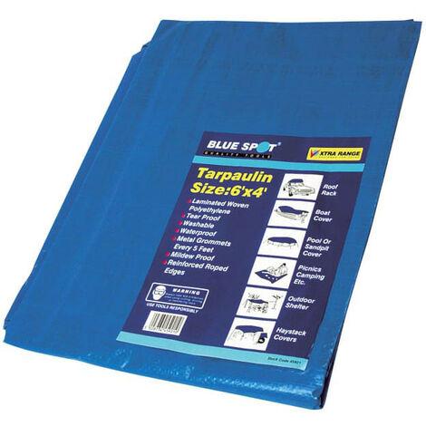 BlueSpot Tools B/S45921 Tarpaulin 1.8 x 1.2m (6 x 4ft)