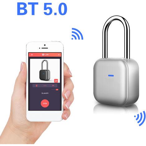 Bluetooth 5.0 Smart Vorh?ngeschloss