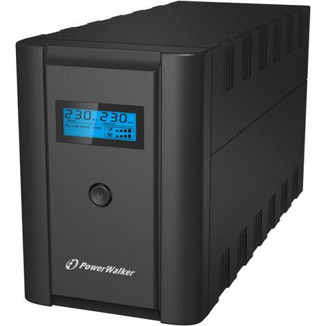 Bluewalker VI 1200 SHL Schuko - Interactivité de ligne - 1200 VA - 600 W - 170 V - 280 V - 50/60 Hz (10120097)