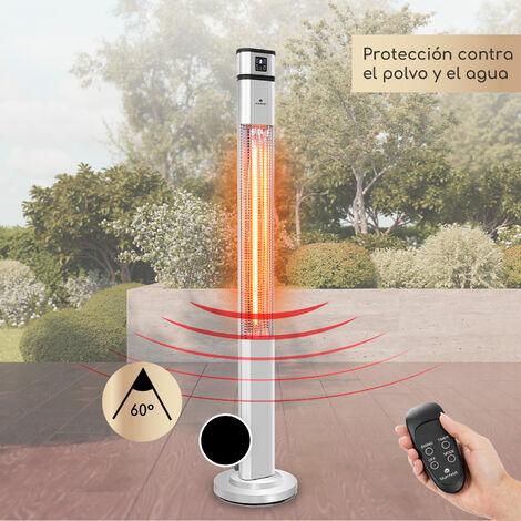 Blum Heat Guru Plus Radiador 2000 W 3 niveles de calor Mando a distancia Plateado