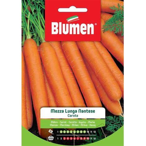 Blumen carota mezza lunga nantese