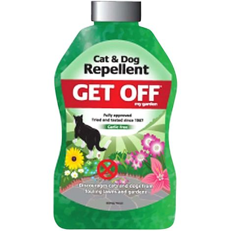 Blumen Get Off My Garden Cat And Dog Repellent Crystals