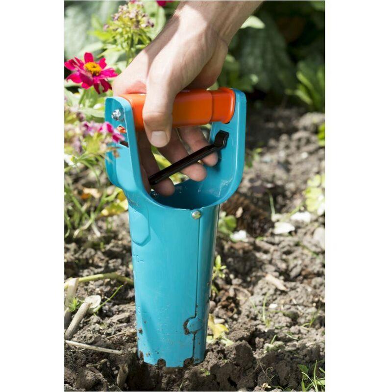 3412 GARDENA Blumenzwiebelpflanzer mit Griff-Auslöseautomatik
