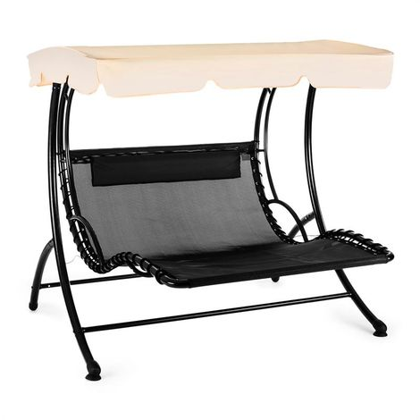Blumfeldt Aristo Swing Sun Lounger Garden Swing Incl. Cushion