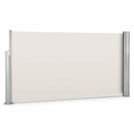 Blumfeldt Bari 316 Paravientos Toldo lateral 300x160cm Aluminio Beis crema