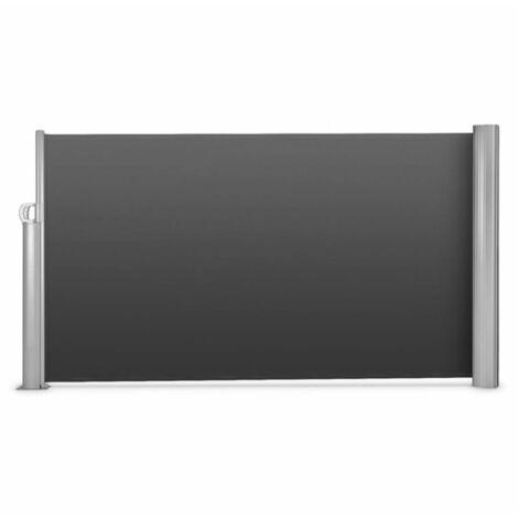 Blumfeldt Bari 318 Cortavientos Toldo lateral 300x180cm Aluminio Antracita