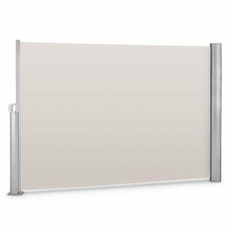 Blumfeldt Bari 320 Cortavientos Toldo lateral 300x200cm Aluminio Beis crema
