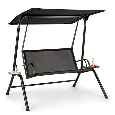 Blumfeldt Bel Air Mono Swing Balancelle avec auvent - cadre ...