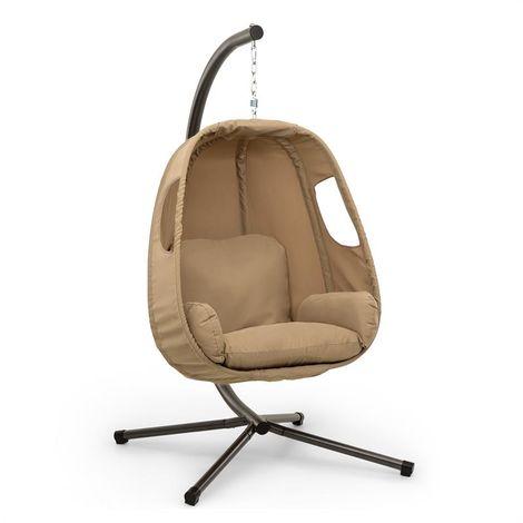 Blumfeldt Bella Donna Hanging Chair Seat Cushion 180g Polyester Beige