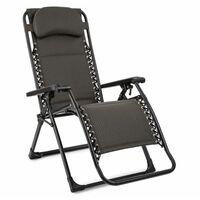 Blumfeldt California Green Chaise longue de jardin pliable rembourrée -carreaux