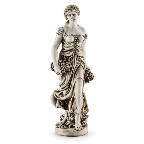 Blumfeldt Ceres estatua escultura terminación a mano 1,2m fibra de vidrio MgO efecto alabastro