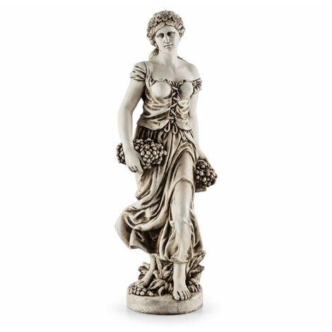 Blumfeldt Ceres Sculpture statue décorative faite main 1,2 m MgO fibre de verre