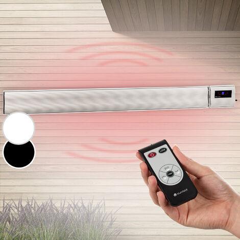 blumfeldt CosmicBeam Plus Infrared Heater 2400W IP44 Remote Control White