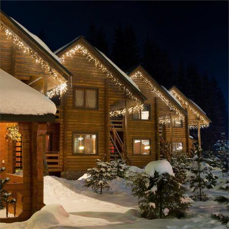 Blumfeldt Dreamhouse Classic LED Christmas lights Icicles 24m 480 LEDs warm-white