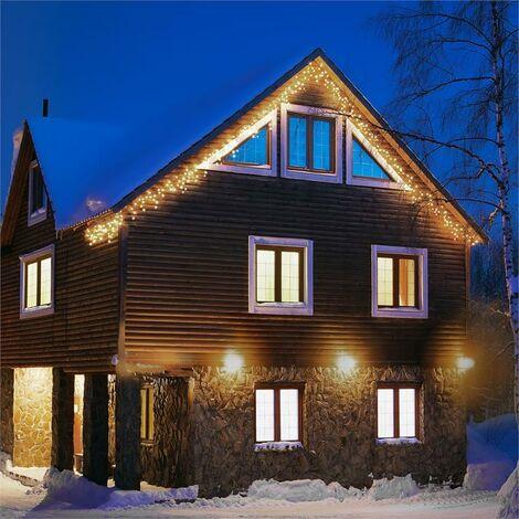 Blumfeldt Dreamhouse Flash Lichterkette 24m 480 LED warmweiß Flash Motion