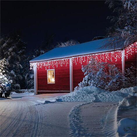 Blumfeldt Dreamhouse Guirnalda luminosa 8m 160 LED blanco frío Snow Motion