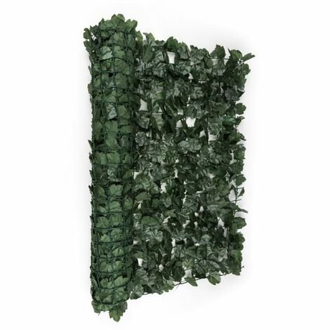 Blumfeldt Fency Dark Ivy Privacy Windscreen 300 x 100 cm Ivy Dark Green