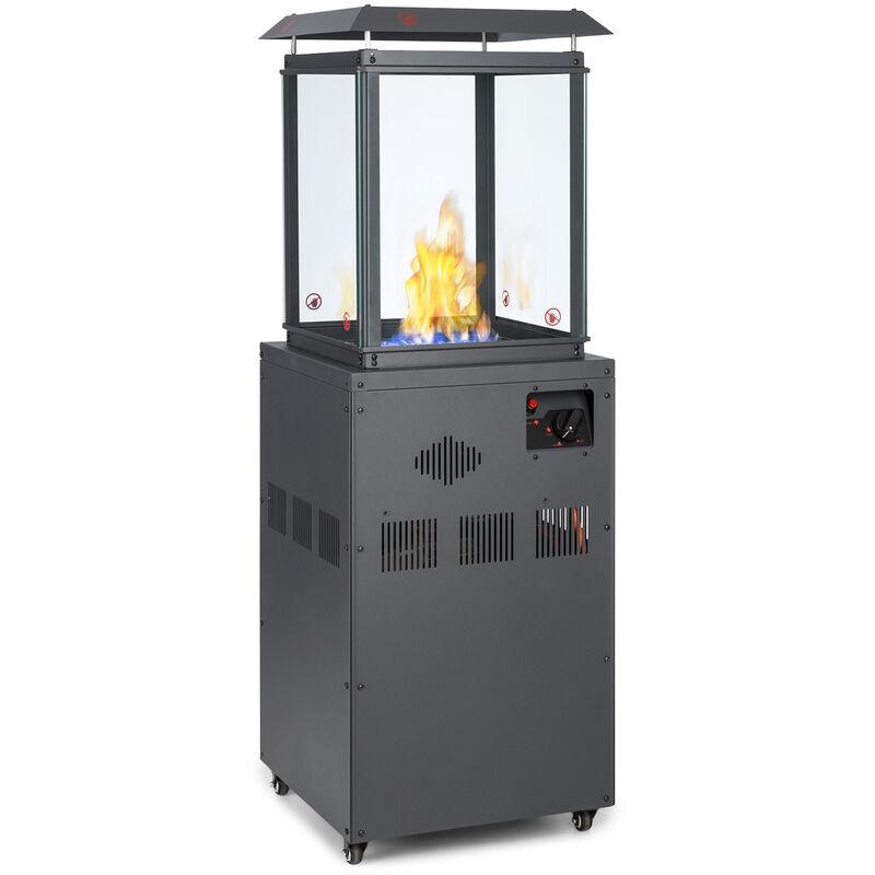 blumfeldt Flagranti radiateur à gaz 8kW bouteille de gaz jusqu'à 11kg inox