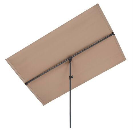 Blumfeldt Flex-Shade L parasol 150 x 210 cm Polyester UV 50 taupe