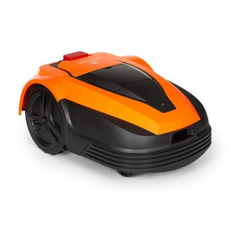 Blumfeldt Garden Hero Robot cortacésped de 5,2 Ah Funcionamiento con batería Hasta 1200 m² Naranja