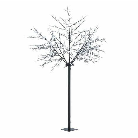 Blumfeldt Hanami CW 250 Árbol de Navidad Flor de cerezo 600 LEDs blanco